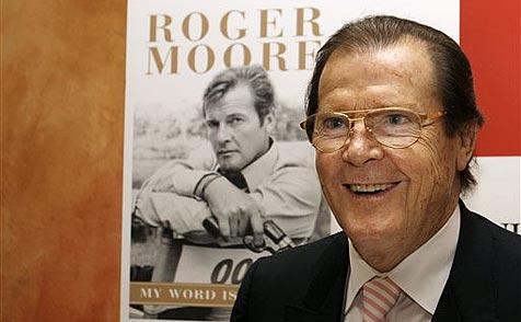 """Roger Moore: """"Ich bin ein Hypochonder"""""""