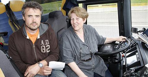 Busfahrer erleidet epileptischen Anfall (Bild: Markus Tschepp)