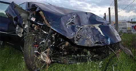 Drei Schwerverletzte bei Unfall auf der A1 (Bild: Feuerwehr Ansfelden)