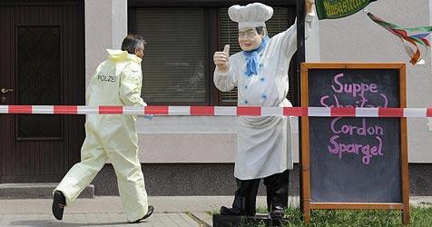 """Mutmaßlicher Killer """"wollte nur Kirschen pflücken"""" (Bild: APA/Helmut Fohringer)"""