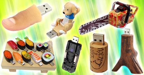 Die verrücktesten USB-Sticks der Welt