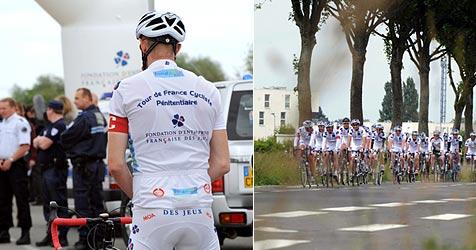 Erste Tour de France für Knastbrüder gestartet (Bild: AFP)