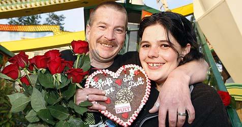 Romantischer Heiratsantrag im Riesenrad (Bild: Markus Tschepp)