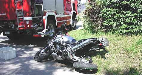 Drei Verkehrsunfälle mit fünf Verletzten (Bild: Feuerwehr Braunau)