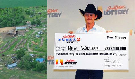 Rancher aus Winner knackte Jackpot