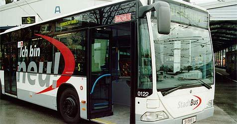 63-Jähriger von Jugendlichen im Bus verletzt (Bild: Salzburg AG)