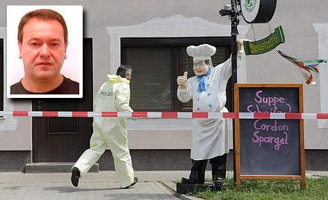 Anklage: Mord, Mordversuch und schwerer Raub (Bild: APA/Helmut Fohringer)
