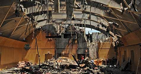 """Feuer im Linzer U-Hof war """"bloß Pech"""" (Bild: Chris Koller)"""