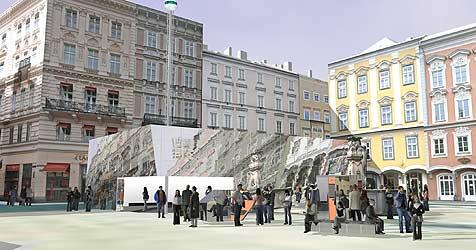 Von Linz aus in 80 Tagen um den Globus (Bild: ANY:TIME Architekten / 80plus1.org)