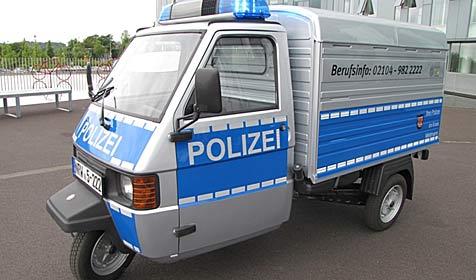 Deutsche Polizei ab sofort mit Dreirad unterwegs (Bild: Polizei Mettmann - Nordrhein-Westfalen)