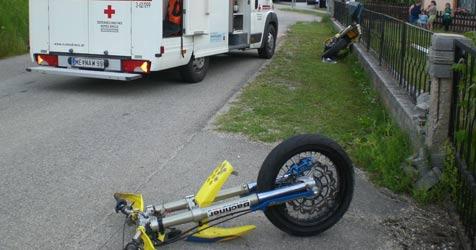 Motorradfahrer bei Zusammenstoß schwer verletzt (Bild: ÖAMTC)