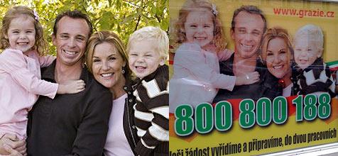 US-Familie unfreiwillig Werbestar in Tschechien (Bild: http://www.extraordinarymommy.com/blog/)