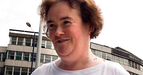 Susan Boyle nach zwei Auftritten erschöpft (Bild: EPA)