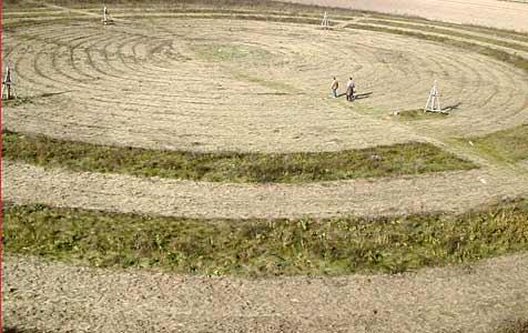 Kreisgrabenanlagen dienten wohl als Kalender (Bild: APA/ANDREAS TROESCHER)