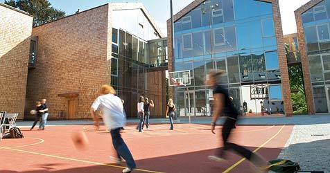 Das erste Schuljahr der Privatschule St. Gilgen (Bild: APA/ST. GILGEN INTERNATIONAL SCHOOL)