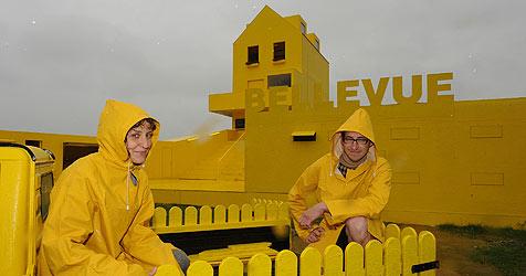"""Gelbes Haus"" eröffnet (Bild: Chris Koller)"