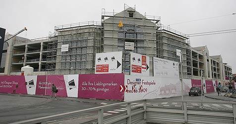 Designer Outlet eröffnet am 10. September (Bild: Andreas Tröster)