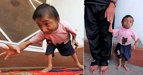 17-Jähriger ist bald kleinster Mann der Welt (Bild: AFP)