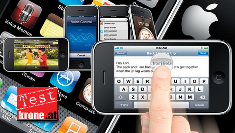 Speed bis der Finger knackst: iPhone 3GS im Test