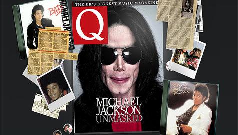 """Michael Jackson """"ungeschminkt"""" auf Titelseite (Bild: Q Magazine)"""