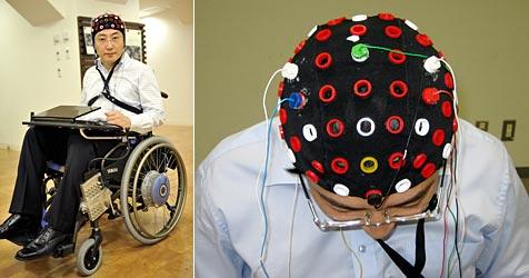 Toyota entwickelt gehirngesteuerten Rollstuhl (Bild: AFP/AP)