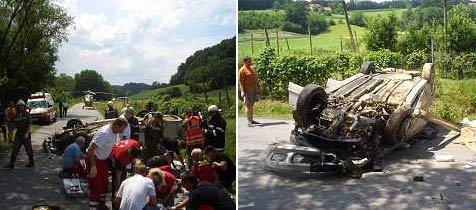 Oberösterreicher in der Steiermark verletzt (Bild: ÖAMTC)