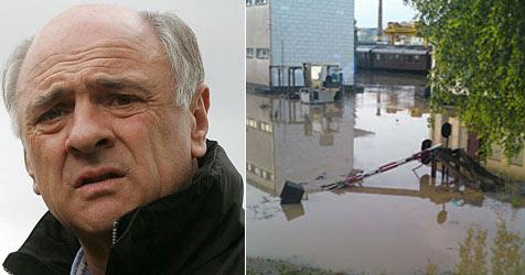 Schon 60 Mio. Euro Schaden durch Hochwasser (Bild: apa/APA/DRAGAN TATIC/HBF/Markus Bonner)