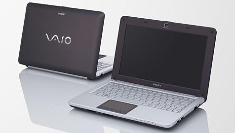 Sony wagt den Sprung ins Netbook-Segment (Bild: Sony)