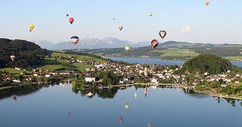 30 Heißluftballon-Teams kämpfen um den Titel (Bild: Salzburger Ballonfahrer)