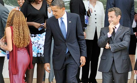 Brachte sexy Delegierte Obama zum Schmelzen?