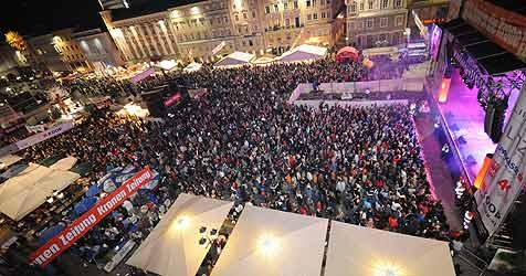 """Musik und Kabarett beim zehnten """"Krone-Fest"""" (Bild: Klemens Fellner)"""
