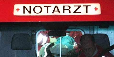 Kraftfahrer von Reinigungsgerät schwerst verletzt