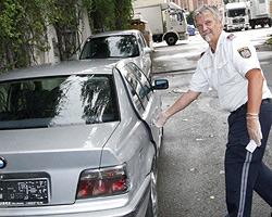 Polizei jagt Einbrecher (Bild: Markus Tschepp)