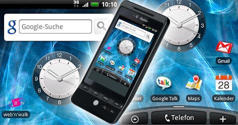 T-Mobile startet Verkauf des G2 Touch