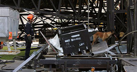 Zwei Tote beim Bühnenaufbau für Madonna