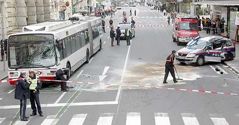 Polizist nach Dienstunfall zur Kasse gebeten (Bild: Markus Tschepp)