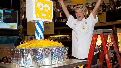 Torte mit 68 Kilo schafft es ins Buch der Rekorde (Bild: ap)
