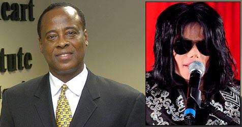 Jacksons Privatarzt gilt offiziell als Verdächtiger