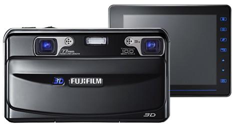 Fujifilm kündigt erste 3D-Digicam für Herbst an (Bild: Fujifilm)