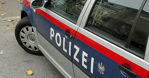 Führerscheinloser Serbe drängt Streifenwagen ab (Bild: Andi Schiel)