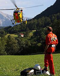 15-jähriger Kletterer am Untersberg verletzt (Bild: BRK BGL)