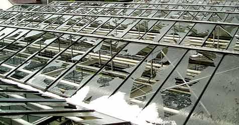 Hagelschäden sichern 5.000 Arbeitsplätze (Bild: APA/Österreichische Hagelversicherung)