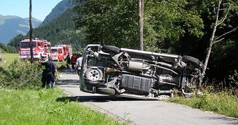 20-Jährige bei Unfall im Pinzgau schwer verletzt (Bild: FF Zell am See)
