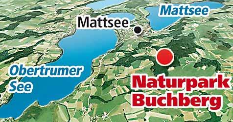 Buchberg ist endlich wieder ein Naturpark (Bild: Krone Grafik)