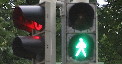 Fußgänger von Auto auf Motorhaube geschleudert (Bild: Jürgen Radspieler)