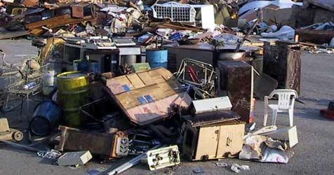 Sperrmüll-Bande gesprengt (Bild: APA/Abfallverband)