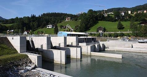 Kraftwerk Werfen/Pfarrwerfen ist in Betrieb (Bild: Salzburg AG)