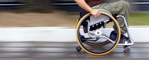 Verfolgungsjagd mit Alko-Rollstuhlfahrer