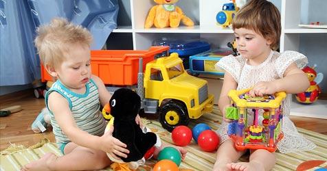 """Gibt""""s bald Streiks in den heimischen Kindergärten? (Bild: © [2009] JupiterImages Corporation)"""