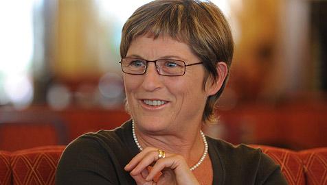 BZÖ-Chefin Ursula Haubner steht ihren Mann (Bild: Chris Koller)